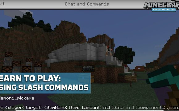 Using Commands in the Game of Minecraft