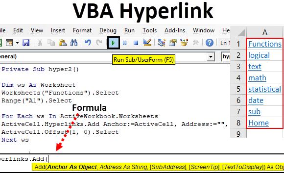 Hyperlink Command Define