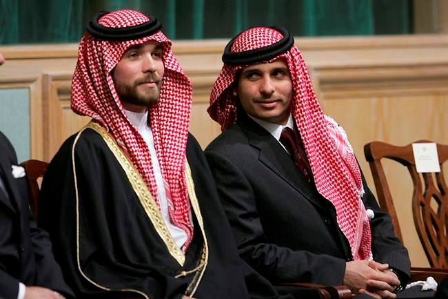 Jordan's king sends tough message on dissent in royal family