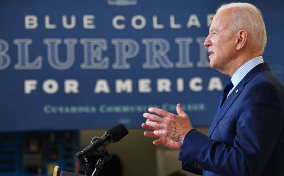 Biden goes on offensive against economic critics, argues rising wages show his agenda is working